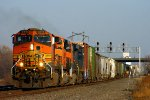 Westbound BNSF High Priority Manifest Train